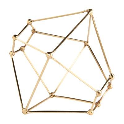 Polyhedron Tablescape Sculpture Size: 7.5 H x 8.5 W x 8.5 D