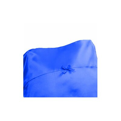 Signature Satin Pillowcase Size: King, Color: Picnic Blue