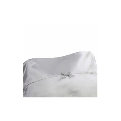 Signature Satin Pillowcase Size: Standard, Color: Overcast