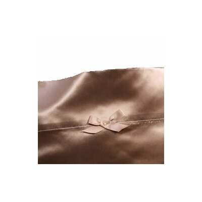 Pearl Satin Pillowcase Size: King, Color: St. Tropez