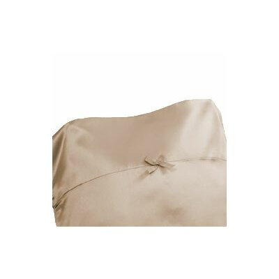 Citadel Satin Pillowcase Size: Standard, Color: Patio Chai