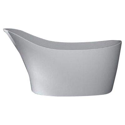 Noble 67.5 x 28.75 Artificial Stone Freestanding Bathtub