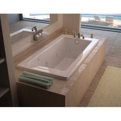 Guadalupe Dream Suite 72 x 36 Rectangular Air & Whirlpool Jetted Bathtub