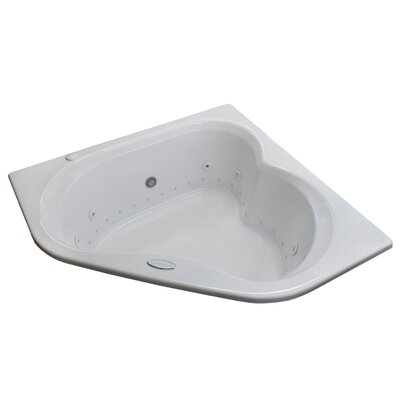 Tobago Dream Suite 59.25 x 59.25 Corner Air Jetted Bathtub