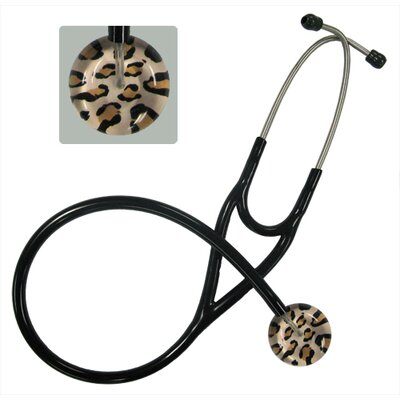 UltraScopes Adult Stethoscope with Leopard Print Design and Black Tubing at Sears.com