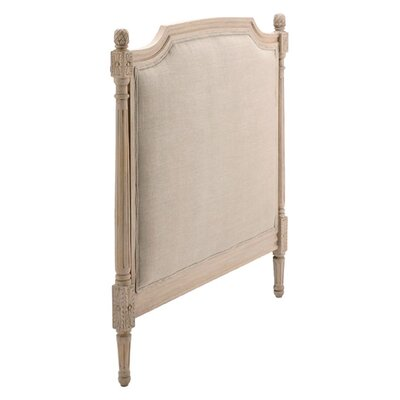 Upholstered Panel Headboard Size: Twin