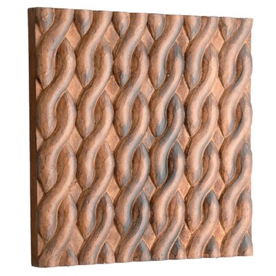 Carved Braid Wall Décor Size: Small