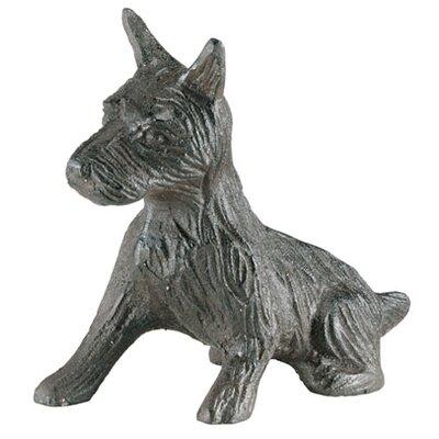 Iron Scotty Dog Statue