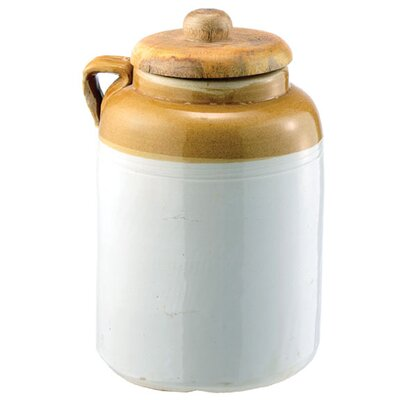 Crockery Pickling Kitchen Canister Size: Small