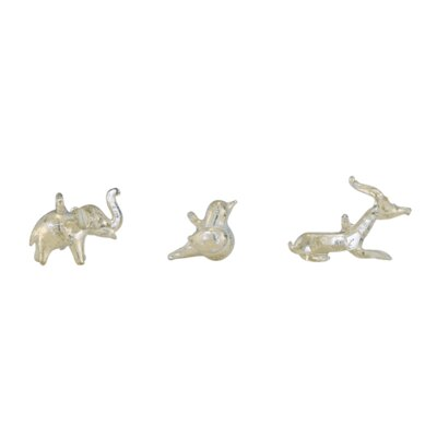 Mini 3 Piece Animal Figurine Set (Set of 6) 61741