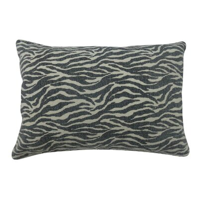 Zebra Cotton Lumbar Pillow