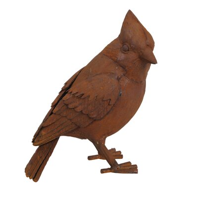 Metal Bird Figurine