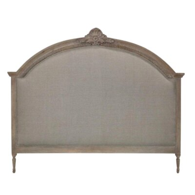 Anne Upholstered Panel Headboard Size: Queen