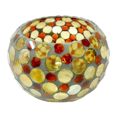 BIDKhome Glass Votive (Set of 2) 89553