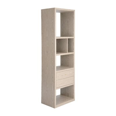 Wood Display Cabinet 94.5 Bookcase Product Image 197