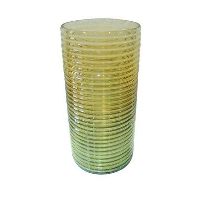 Ribbed Luster Vase Size: Large 870170