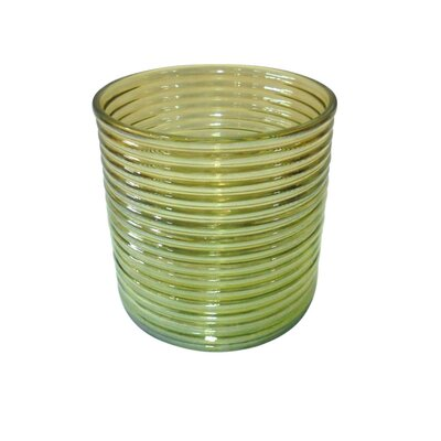 Ribbed Luster Vase Size: Small 870172