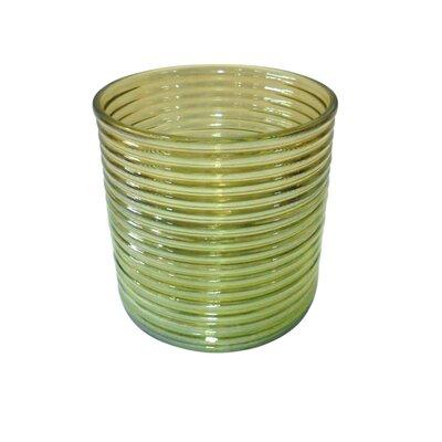 Ribbed Lustre Vase 870172