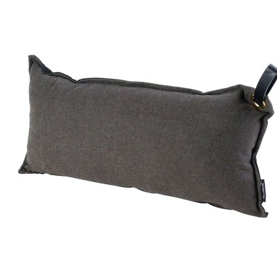 Chalmer Throw Pillow with Handle Color: lt. Grey