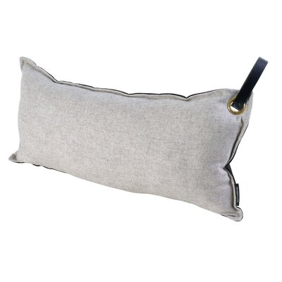Chalmer Throw Pillow with Handle Color: Dk. Grey