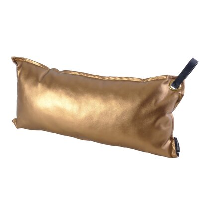 Chalmer Throw Pillow with Handle Color: Gold
