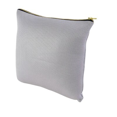 Throw Pillow Size: 23.5 H x 23.5 W x 1 D, Color: White