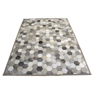 Hide Hex Grey / Tone Area Rug
