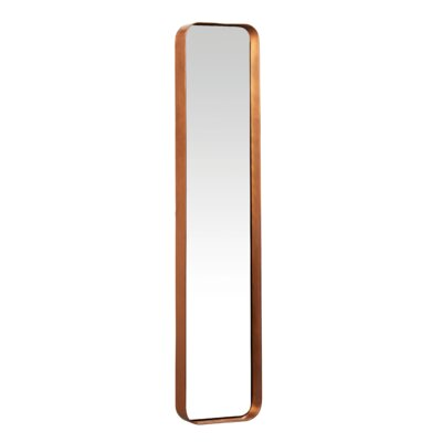 Metal And Glass Beacon Wall Mirror Size: Small