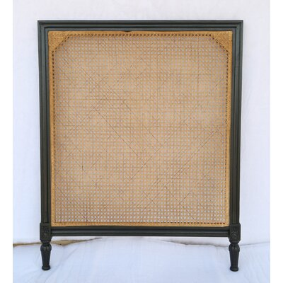 Caned Kelty Panel Headboard Size: Twin