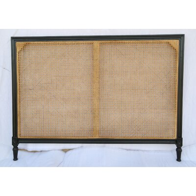 Caned Kelty Panel Headboard Size: Queen