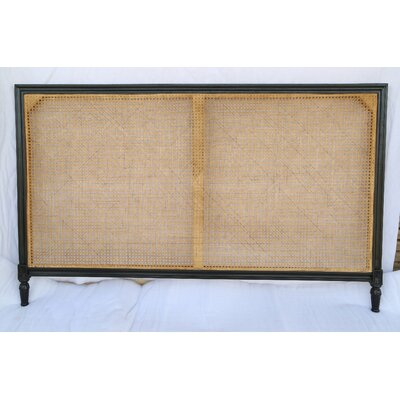 Caned Kelty Panel Headboard Size: King