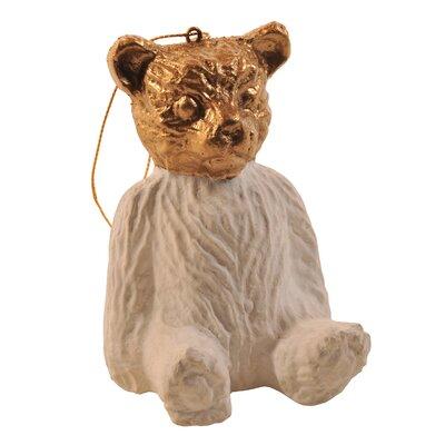 Paper Mach Bear Ornament