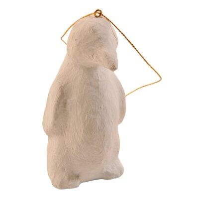 Paper Mach Penguin Ornament
