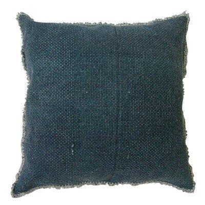 Fall Textile Throw Pillow Color: Teal