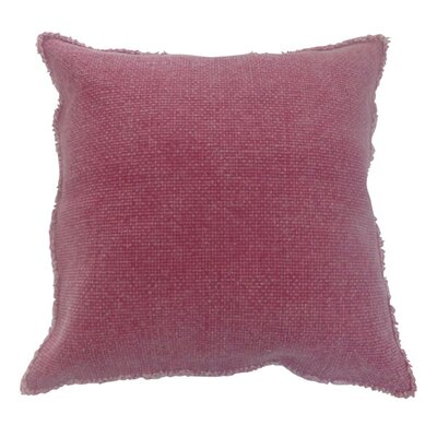 Fall Textile Throw Pillow Color: Red