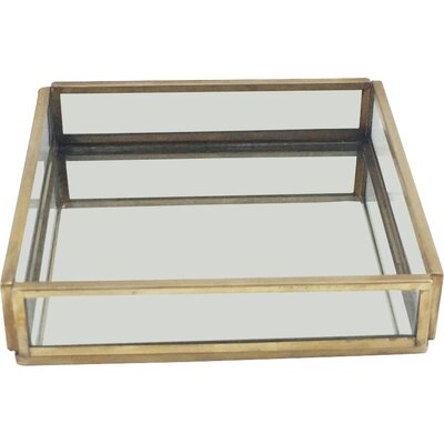 Glass Square Tray