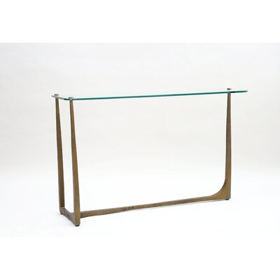 Leigh Iron Hammered Console Table
