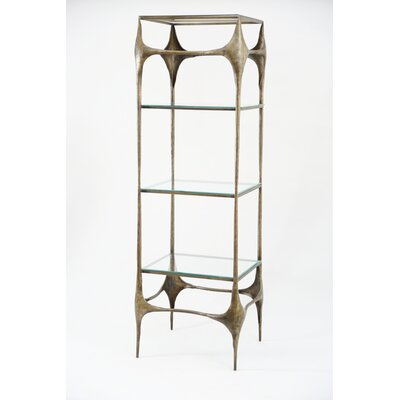 Iron Hammered Etagere Bookcase Dulcinea Product Picture 18