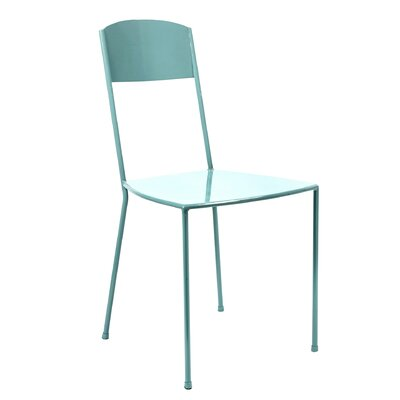 Dorsey Metal Side Chair Finish: Lightblue