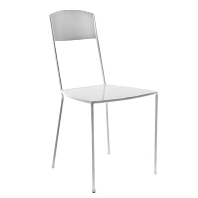 Dorsey Metal Side Chair Finish: White