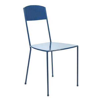 Dorsey Metal Side Chair Finish: Blue