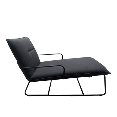 Belvin Lounger Chair Upholstery: Charcoal