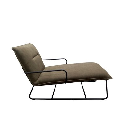 Belvin Lounger Chair Upholstery: Light Brown