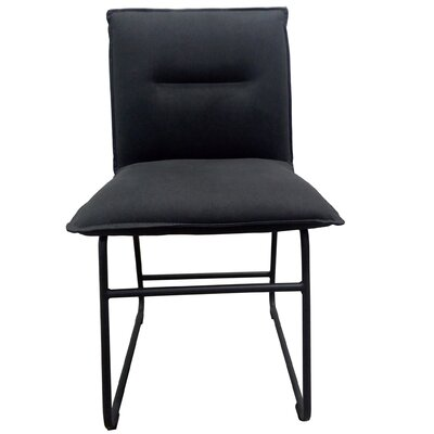 Belvin Side Chair Upholstery: Charcoal