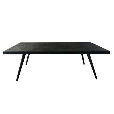 Astille Wood Charred Dining Table