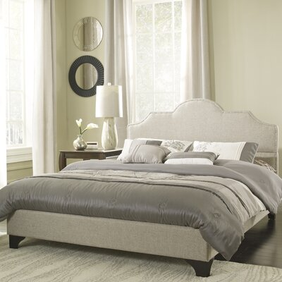 Upholstered Platform Bed Size: Double