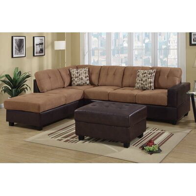 Where can i buy bobkona sectional sofa and ottoman set for Where can i buy a sectional sofa