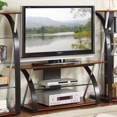 Bobkona Jasper 48 TV Stand Color: Walnut