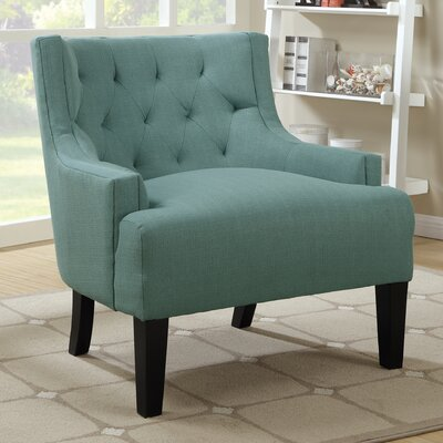 Hemphill Wingback Chair Upholstery: Light Blue