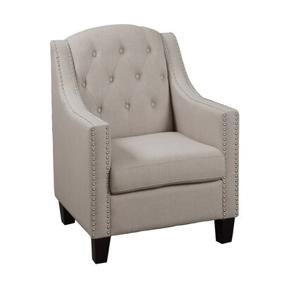 Bobkona Taden Armchair Upholstery: Beige